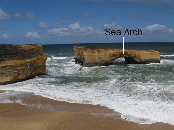 sea arch image
