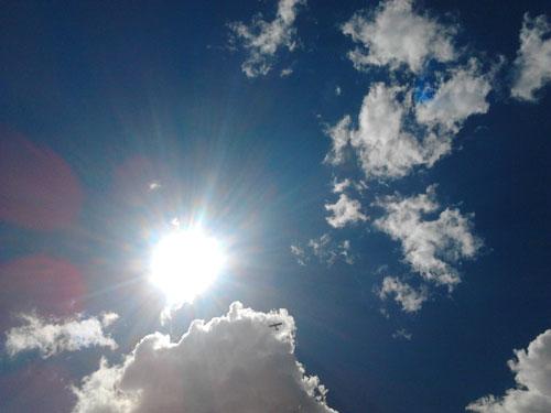 earth's rotation sun