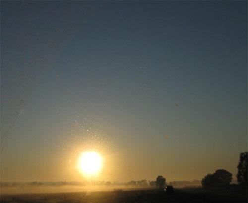 earth's rotation sunrise