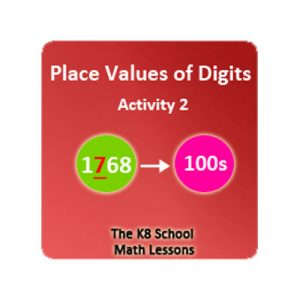 Proverbs Quiz 4 Place Values of Digits Activity 2