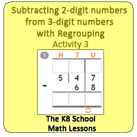 Subtracting-2digit-numbers-from-3digit-numbers-with-Regrouping-Activity-3