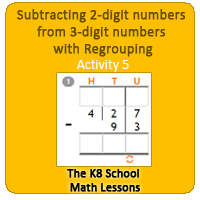 Subtracting-2digit-numbers-from-3digit-numbers-with-Regrouping-Activity-5