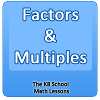 Factors and Multiples Factors and Multiples