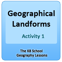 Human Skeletal System Quiz 1 What are these landforms? – Activity 1