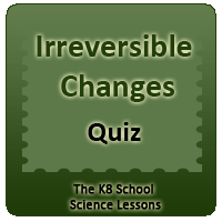Proverbs Quiz 4 Irreversible Changes KS2 Worksheets