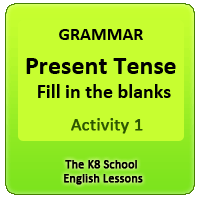 Examples of Simple Present Tense – Activity 1 Examples of Simple Present Tense – Activity 1