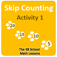 Missing Addend Worksheet 5 Skip Counting
