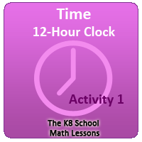 Mathematics Reading Time Converting 12 Hour 24 Hour Clock 1