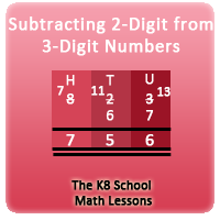 Mathematics Subtracting 2-digit numbers with Regrouping