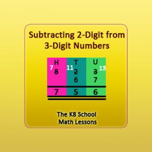 Subtraction 2-digit numbers from 3-digit numbers – Regrouping Subtraction 2-digit numbers from 3-digit numbers – Regrouping