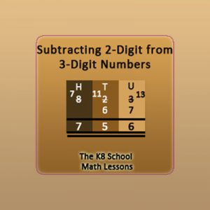 2-digit from 3-digit Subtraction with Regrouping 2-digit from 3-digit Subtraction with Regrouping