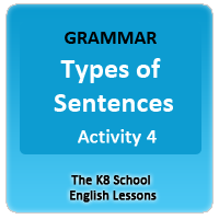 Sentence Types Worksheets