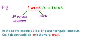 Irregular Plural Nouns Exercises 1 Present Simple