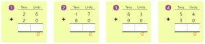 Adding 2-digit Numbers in Columns without Regrouping 10 Adding 2-digit Numbers in Columns without Regrouping 10