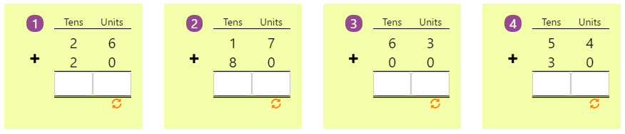 Arranging Numbers Biggest to Smallest Worksheet 8 Adding 2-digit Numbers in Columns without Regrouping 10