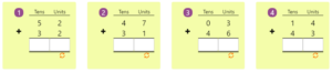 Adding 2-digit Numbers in Columns without Regrouping 3 Adding 2-digit Numbers in Columns without Regrouping 3