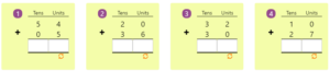 Adding 2-digit Numbers in Columns without Regrouping 4 Adding 2-digit Numbers in Columns without Regrouping 4