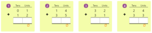 Adding 2-digit Numbers in Columns without Regrouping 5 Adding 2-digit Numbers in Columns without Regrouping 5
