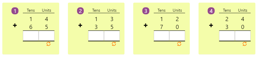 Arranging Numbers Biggest to Smallest Worksheet 8 Adding 2-digit Numbers in Columns without Regrouping 6