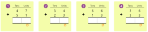 Adding 2-digit Numbers in Columns without Regrouping 7 Adding 2-digit Numbers in Columns without Regrouping 7