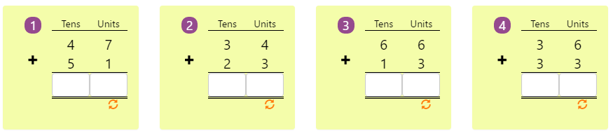 Arranging Numbers Biggest to Smallest Worksheet 8 Adding 2-digit Numbers in Columns without Regrouping 7