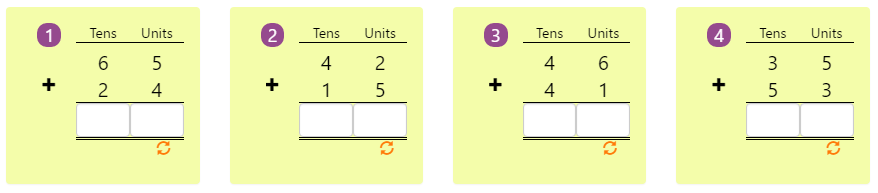 Arranging Numbers Biggest to Smallest Worksheet 8 Adding 2-digit Numbers in Columns without Regrouping 8