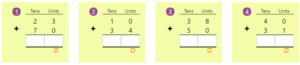 Adding 2-digit Numbers in Columns without Regrouping 9 Adding 2-digit Numbers in Columns without Regrouping 9