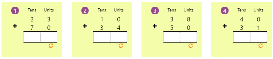Arranging Numbers Biggest to Smallest Worksheet 8 Adding 2-digit Numbers in Columns without Regrouping 9