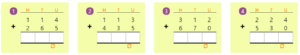 Adding 3-digit Numbers in Columns without Regrouping 5 Adding 3-digit Numbers in Columns without Regrouping 5