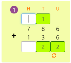 Mathematics 3 Digit and 2 Digit Addition with Regrouping Activity 7