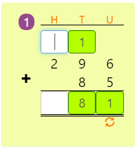 Mathematics 3 Digit and 2 Digit Addition with Regrouping Activity 10