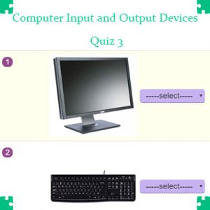 ICT Computer Input and Output Devices Quiz 3