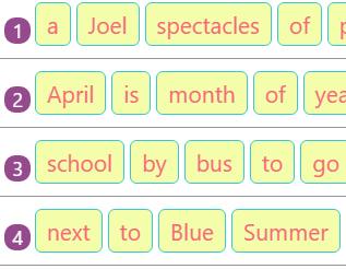 Rearranging Jumbled Words to Make Sentences Activity 10 Rearranging Jumbled Words to Make Sentences Activity 10