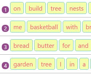 Rearranging Jumbled Words to Make Sentences Activity 7 Rearranging Jumbled Words to Make Sentences Activity 7