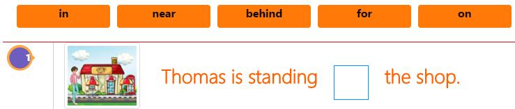 Prepositions – Grammar Fill in the blanks Activity 2 Prepositions – Grammar Fill in the blanks Activity 2