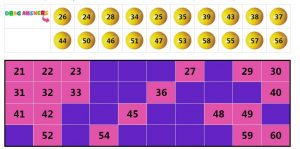 Mathematics Number Puzzle Activity 1