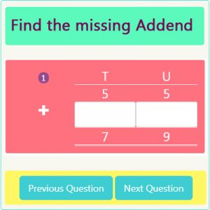 Addition Missing Addend Worksheet 2 Addition Missing Addend Worksheet 2