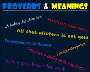 Examples of Proverbs 1 Examples of Proverbs 1
