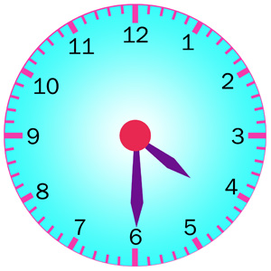 telling time half past activity 3 telling time quiz 12 hour clock rh k8schoollessons com Clock at 4 30 Clocks 3 30 Clip Art