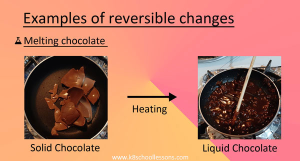 Examples Melting Chocolate