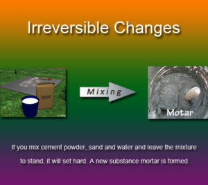 Key Stage Two Irreversible changes