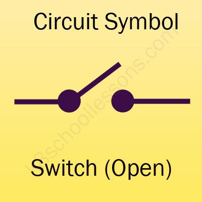 Switch Open Symbol on Circuit Diagram Symbols