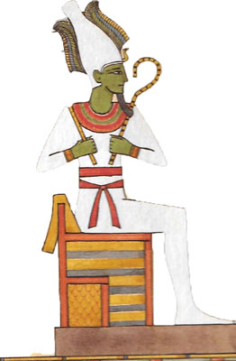 Egyptian Gods and Goddesses - Osiris