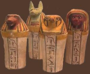 Mummification - Canopic Jars
