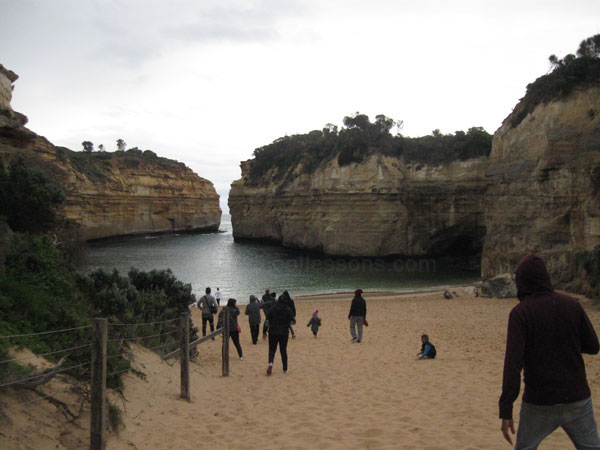 Loch Ard Gorge on Great Ocean Road, Victoria, Australia