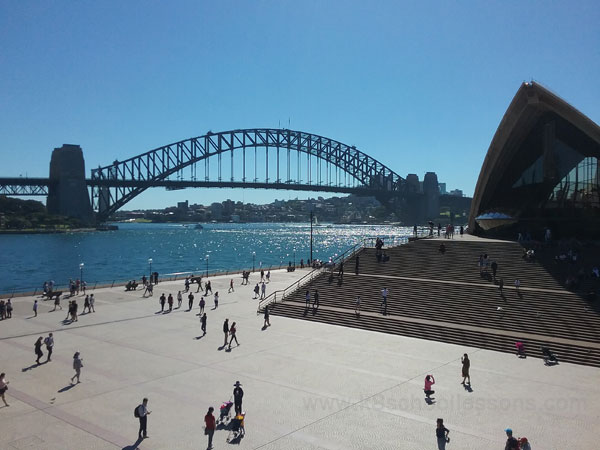 Sydney Habour Bridge Opera House