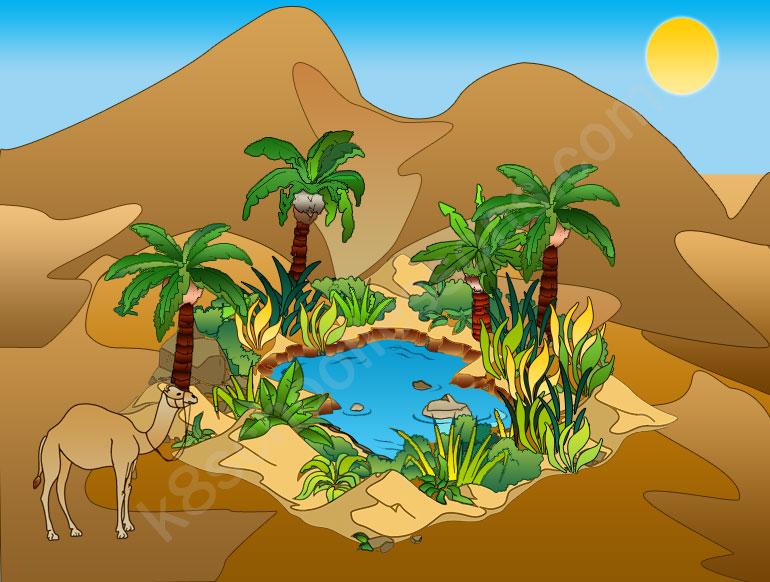 desert peoples desert oasis