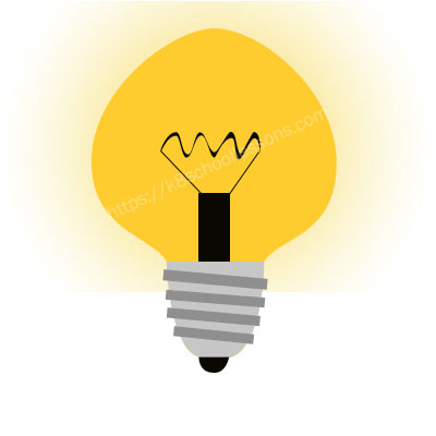 Sources of light - Light bulb
