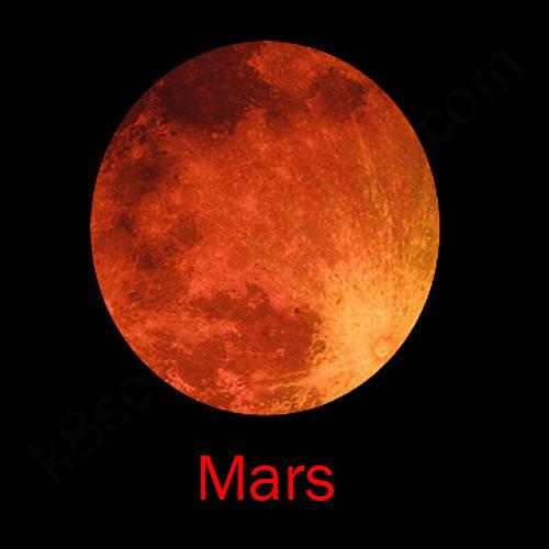 the solar system mars