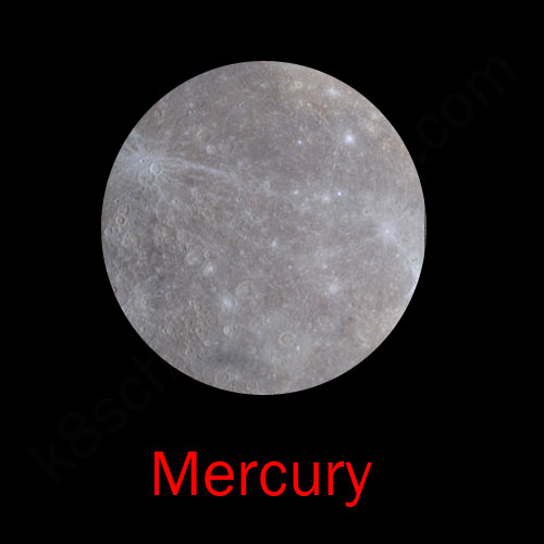 the solar system mercury